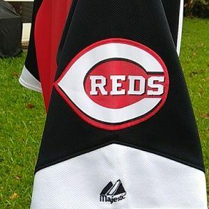 Cincinnati Reds Majestic  Jersey